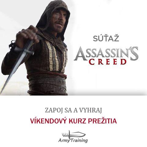 Súťažte s filmom Assassin´s Creed a vyhrajte Kurz prežitia
