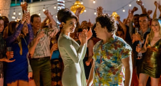(L-R) Priyanka Chopra as Victoria Leeds and Jon Bass as Ronnie in the film BAYWATCH by Paramount Pictures, Montecito Picture Company, FlynnPicture Co., and Fremantle Productions.