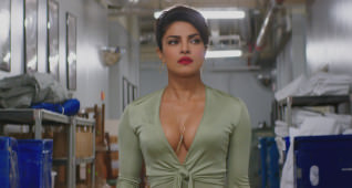 Priyanka Chopra as Victoria Leeds in the film BAYWATCH by Paramount Pictures, Montecito Picture Company, Flynn Picture Co., and Fremantle Productions