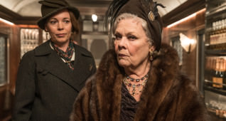 "Olivia Colman, left, and Judi Dench star in Twentieth Century Fox's ""Murder on the Orient Express."""