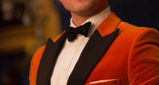"DF-24830 - Taron Egerton stars in Twentieth Century Fox's ""Kingsman: The Golden Circle,"" also starring Colin Firth, Julianne Moore, Halle Berry, Mark Strong, Elton John, Channing Tatum and Jeff Bridges. Photo Credit: Giles Keyte."