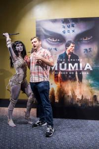Premiéra filmu Múmia