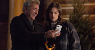 Mel Gibson plays Kurt and Alessandra Ambrosio plays Karen in Daddy's Home 2 from Paramount Pictures.