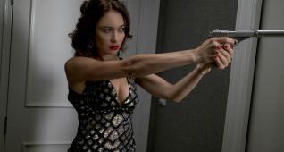 Olga Kurylenko stars as Ophelia in JOHNNY ENGLISH STRIKES AGAIN, a Focus Features release.