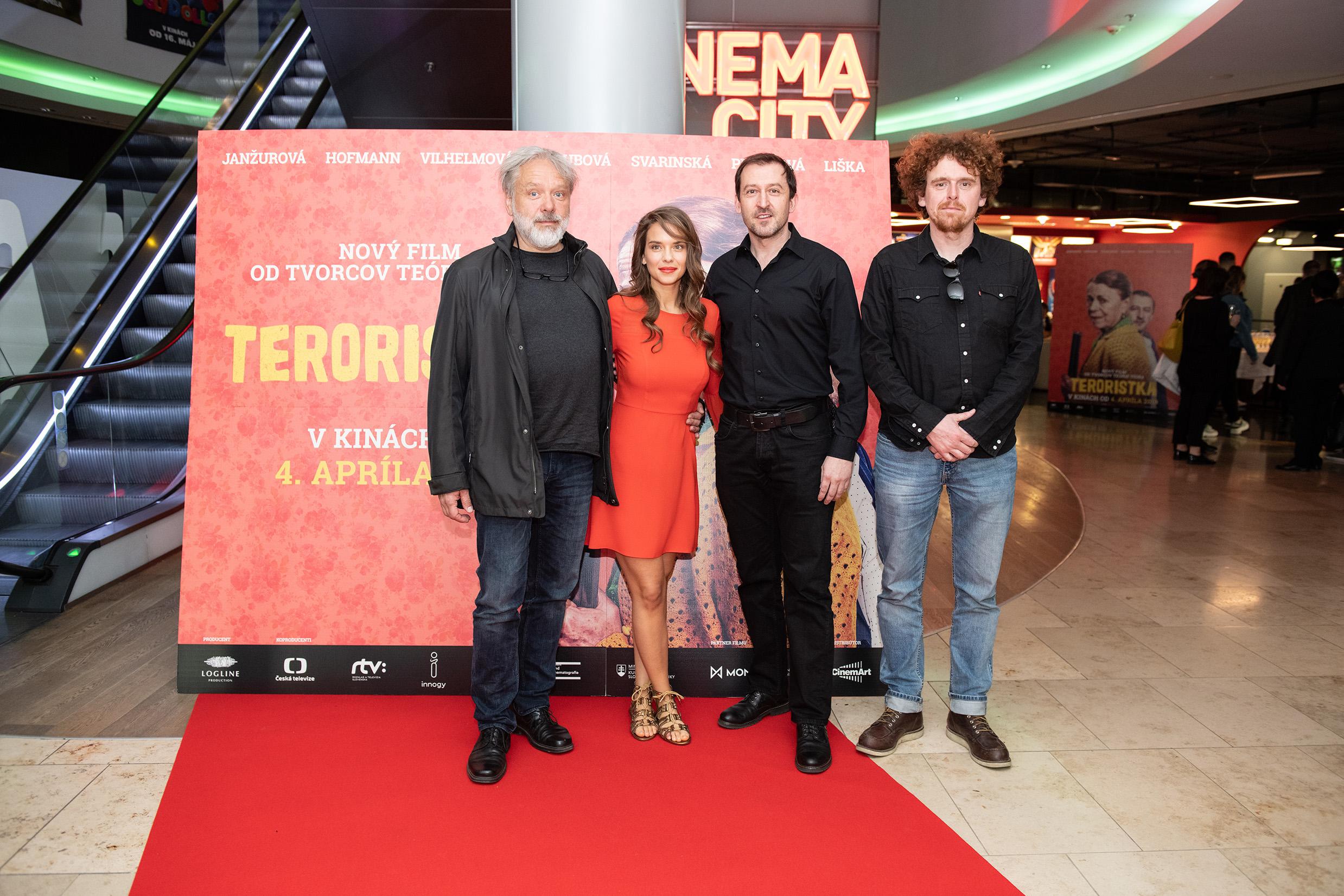 Premiéra novej českej komédie Teroristka